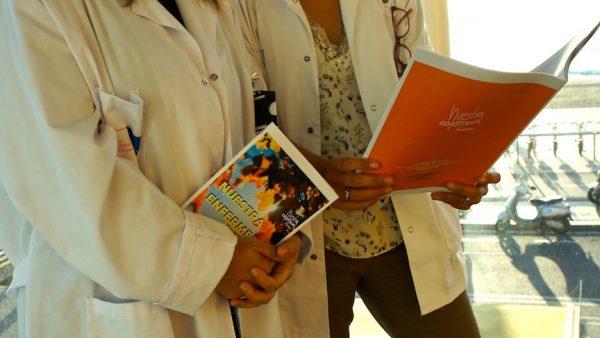 Las enfermeras del Parc de salut Mar de Barcelona también son fanzineras  Cada vez hay más enfermeras Fanzineras!!! Gracias PSMAR!!!