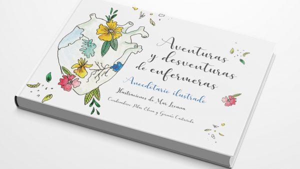 Enfermeras cántabras relatan en un libro ilustrado historias curiosas vividas en el ejercicio de su profesión